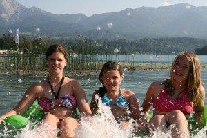 Badespaß in diesem wunderbarem Faaker See