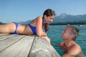 südlichster Badesee - ein Traum