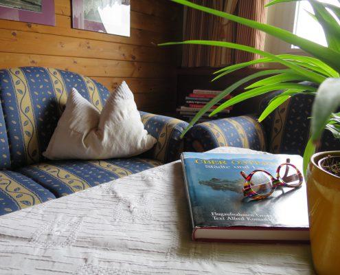Zeit haben und wieder mal ein Buch lesen