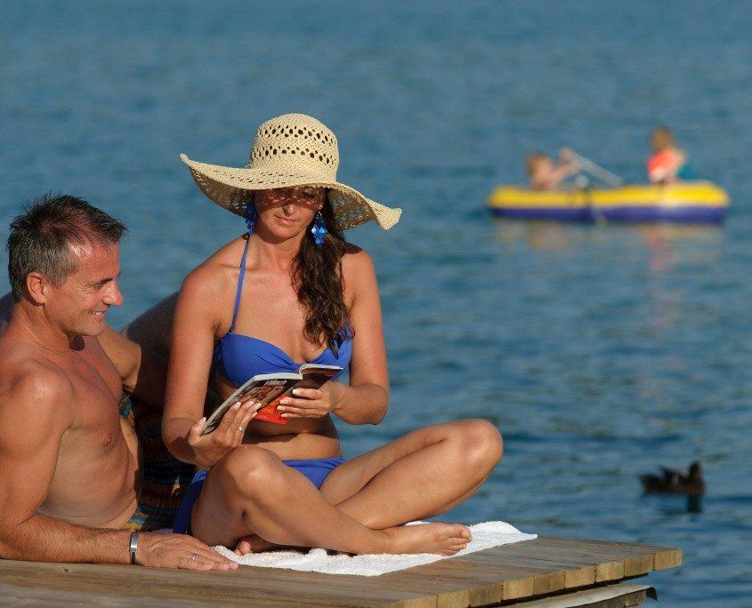 privater Strand - Sonnenstunden am See