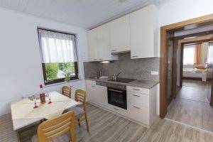 die neue Wohn-Küchen mit Geschirrspüler