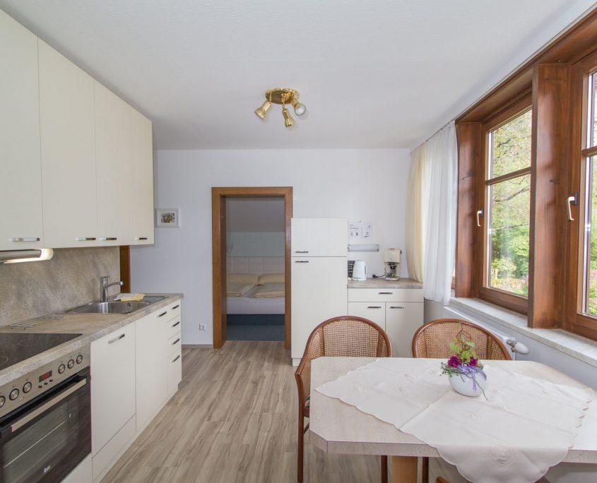 Wohnküche hell und freundlich