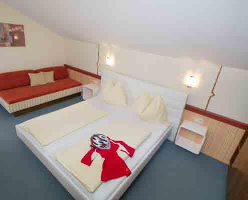 Schlafraum gute Betten