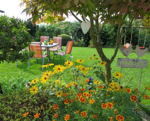 Ruh Dich aus in meinem Garten