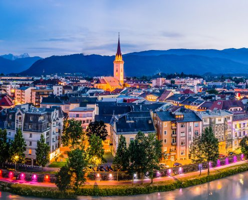 Altstadt Villach in Kärnten