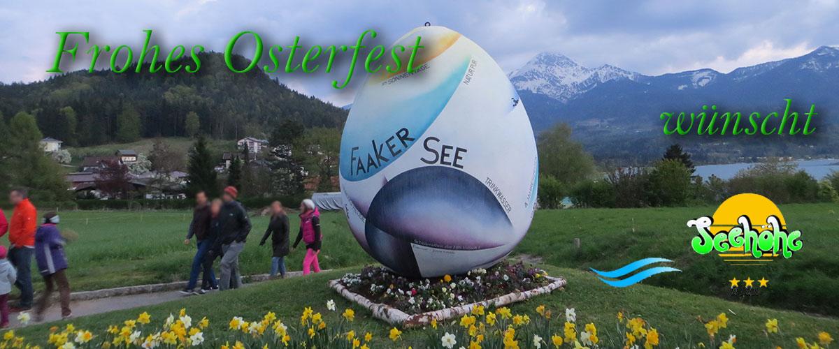 Ostergrüße aus der Urlaubsregion Kärnten dem Faaker See