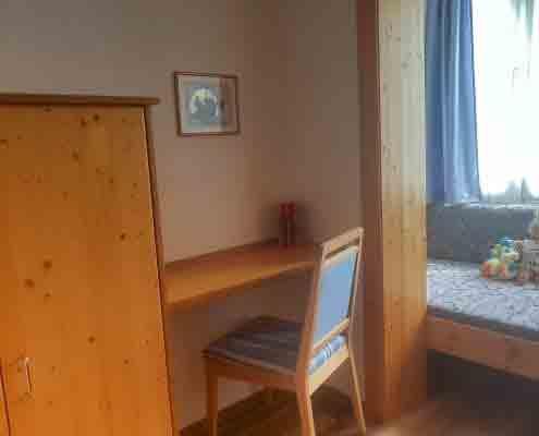 Kinderzimmer in der Ferienwohnung Typ E