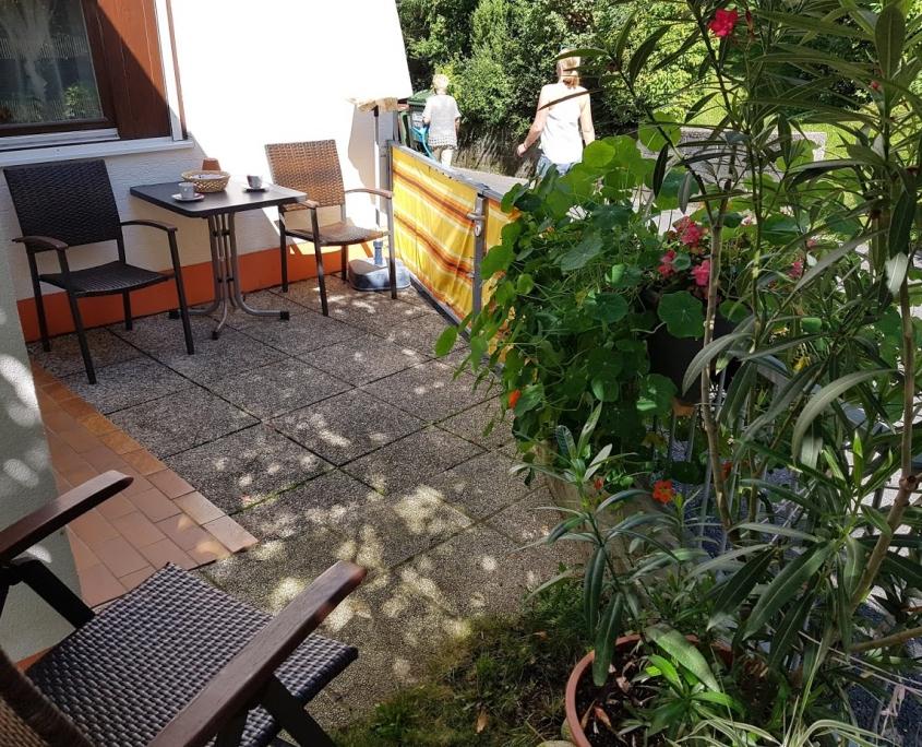 App 201 mit Garten