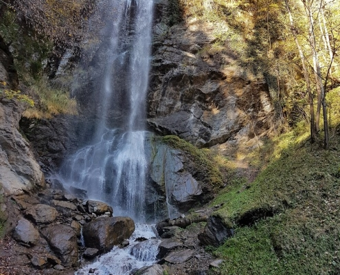 3 Wasserfälle hintereinander