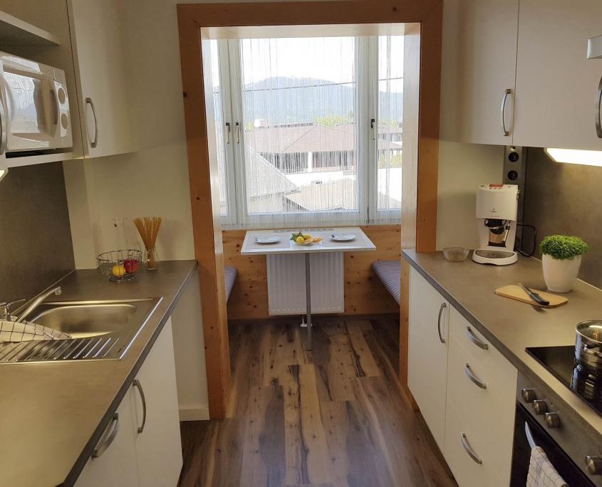 NEUE Küche in Ferienwohnung Type F