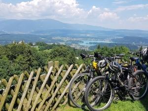 Mountainbike um den Faaker See